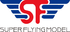 Super Flying Model Logo