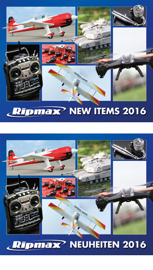 Ripmax New Items 2016 Cover