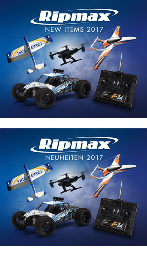 Ripmax New Items 2017 Cover